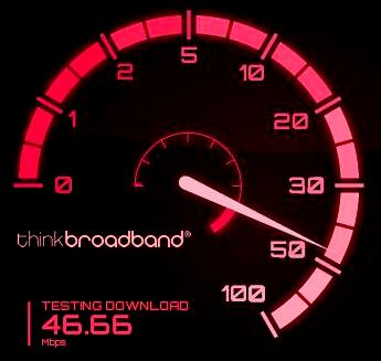 Broadband speedtest