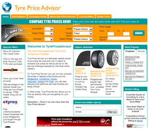 The Tyre Price Advisor